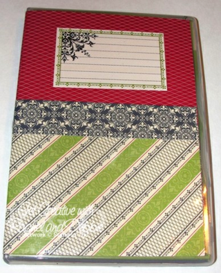 2012 Week 8 Stamp Case Scrapbook