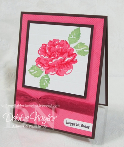Unfrogettable Stamping | 2012-12-08 Shoe Box swap card