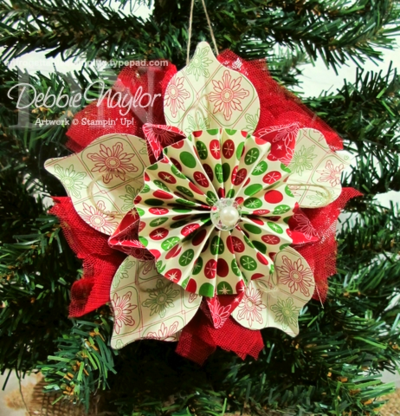 Unfrogettable Stamping | Fabulous Friday ornament 2012-12-14