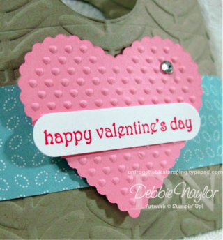 Unfrogettable Stamping  SCIC #62 Valentine treats 2013-01-21