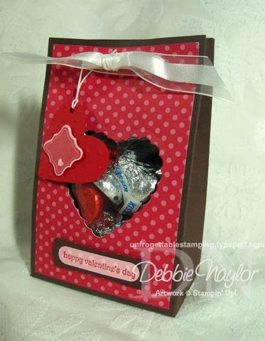 Unfrogettable Stamping | Free Valentine Treat Box tutorial 2013-02-03