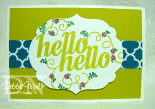Unfrogettable Stamping | Hello, Hello 2013-02-08