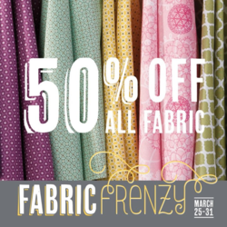 Stampin Up Fabric Frenzy sale