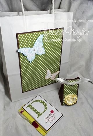 Unfrogettable Stamping | polka dot birthday party projects 2013-04-25