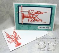 Unfrogettable Stamping | By the Tide thank you card video tutorial  2013-05-01