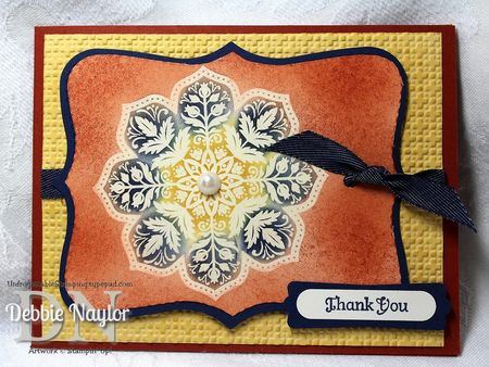 Unfrogettable Stamping | Day of Gratitude thank you card 2013-05-17