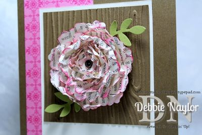Unfrogettable Stamping | punch art flower 2013-05-03