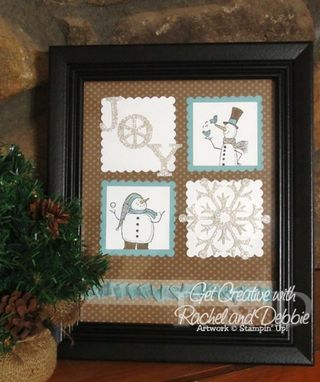 Unfrogettable Stamping | 2012 Week 7 Snow Much Fun Winter decor