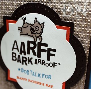 Unfrogettable Stamping | Animal Talk Fathers Day card 2013-06-07