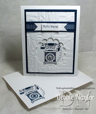 Unfrogettable Stamping | Stampin' Up! Timeless Talk video tutorial