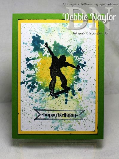 Unfrogettable Stamping | Extreme birthday card 2013-06-23