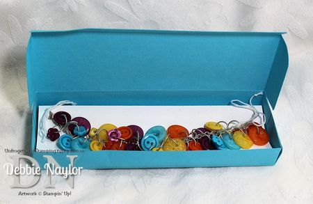 Unfrogettable Stamping | Stampin' Up! button bracelet 2013-06-27