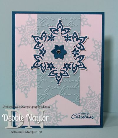 Unfrogettable Stamping | Fabulous Friday Festive Flurry card 2013-07-26