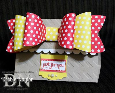 Unfrogettable Stamping | Big Shot Gift Bow die 2013-08-09