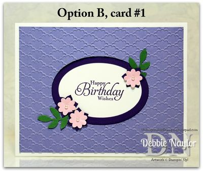 Unfrogettable Stamping | 2013-10-05 Relay for Life SAS Option B card 1