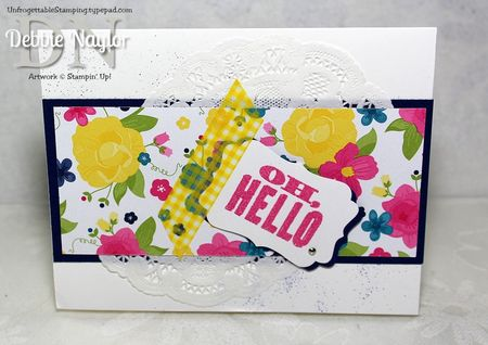 Unfrogettable Stamping | Shoe Box swap Jodi Lawson card
