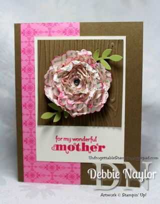 Unfrogettable Stamping | Delightful Dozen Mothers Day card 2013-05-03