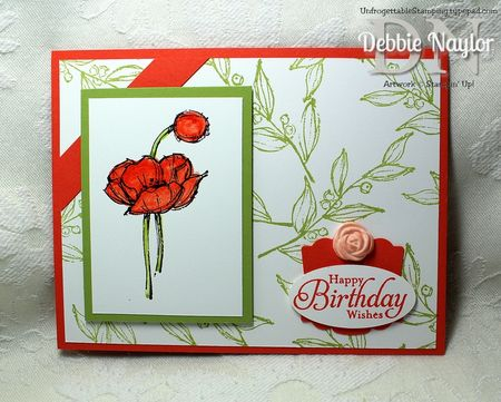 Unfrogettable Stamping | Simply Sketched card 2013-05-23