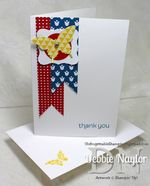 Unfrogettable Stamping | Made For You thank you card video tutorial 2013-05-22