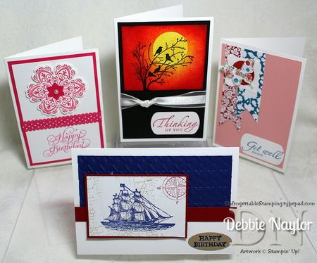 Unfrogettable Stamping | Williams Home card class 2013-05-28
