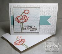 Unfrogettable Stamping | Simply Sketched birthday card video tutorial