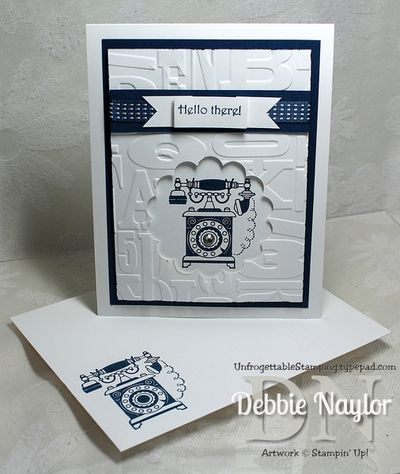 Unfrogettable Stamping | Timeless Talk card 2013-06-11