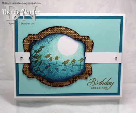 Unfrogettable Stamping | Fabulous Friday Wetlands card 2013-06-14