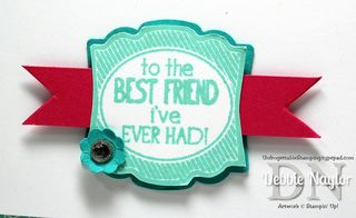 Unfrogettable Stamping | Label Love card 2013-06-22