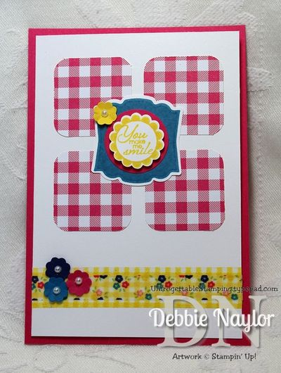 Unfrogettable Stamping | Gingham Garden card 2013-06-25