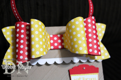 Unfrogettable Stamping | Fabulous Friday gift bag 2013-08-09