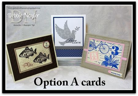 Unfrogettable Stamping | 2013-10-05 Relay for Life SAS Option A cards