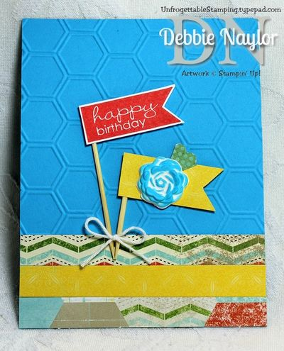 Unfrogettable Stamping | Jennifer Rawlings June 2013 swap card B