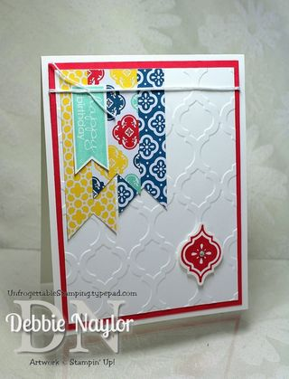 Unfrogettable Stamping | Mosaic Madness card 2013-05-25