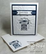 Unfrogettable Stamping | Timeless Talk QE card video tutorial 2013-06-12