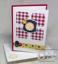 Unfrogettable Stamping | Gingham Garden card tutorial 2013-06-26