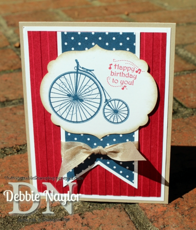 Unfrogettable Stamping | Fabulous Friday Simply Paper Design Challenge card 2013-06-28