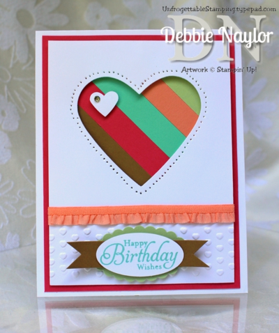 Unfrogettable Stamping | Fabulous Friday In Colors birthday card 2013-07-07