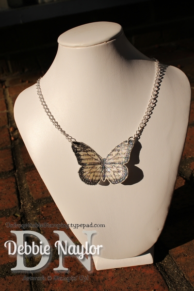 Unfrogettable Stamping | Fabulous Pinterest-inspired butterfly necklace 2013-08-16