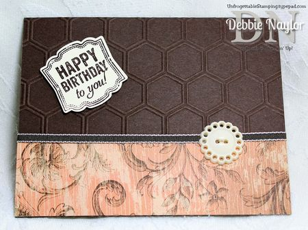 Unfrogettable Stamping | Sherri Gough June 2013 swap card B