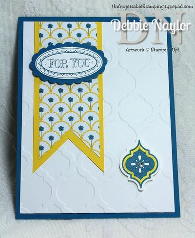 Unfrogettable Stamping | Sherri Gough June 2013 swap card A
