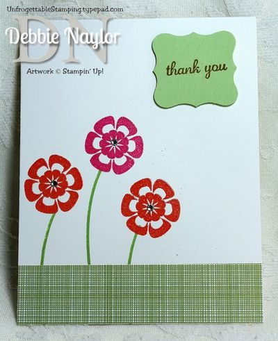 Unfrogettable Stamping | Heather Palm June 2013 swap card B