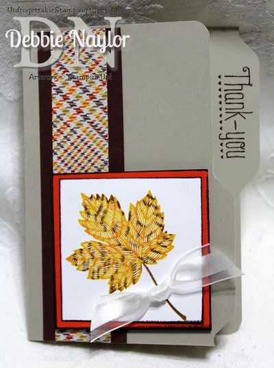 Unfrogettable Stamping | Wendy Boothe card 2013-09-12