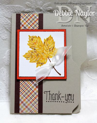 Unfrogettable Stamping | Fabulous Friday card 2013-09-12