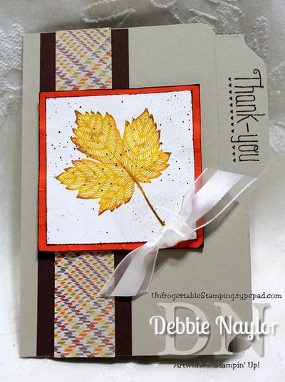 Unfrogettable Stamping | Jennifer Rawlings card 2013-09-12