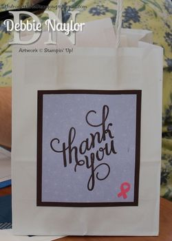 Unfrogettable Stamping | Card supplies bag