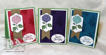 Unfrogettable Stamping | Fabulous Friday Best Of Flowers cards 2013-10-11