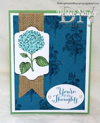 Unfrogettable Stamping | Fabulous Friday Best of Flowers Indigo combo card 2013-10-11