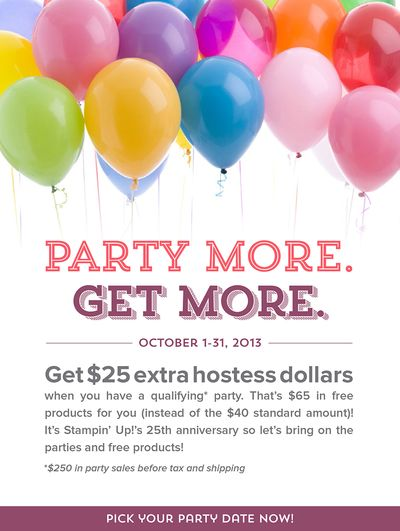 Unfrogettable Stamping | Get $25 extra Hostess $'s!!