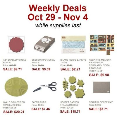 Unfrogettable Stamping | 10-29 thru 11/4 weekly deal