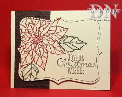 Unfrogettable Stamping | Week4 QE Christmas card 2013-10-30